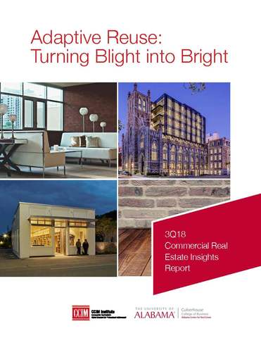Adaptive Reuse: Turning Blight Into Bright