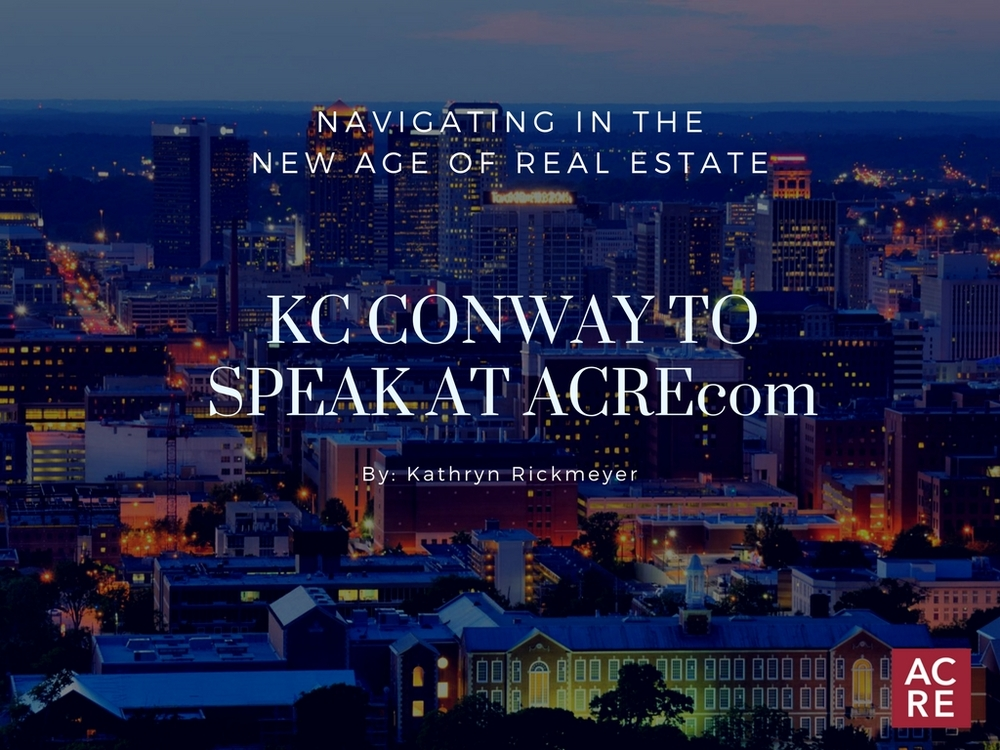 KC Conway to Speak at ACREcom 2018