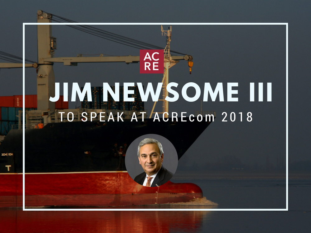 Jim Newsome to Speak at ACREcom 2018