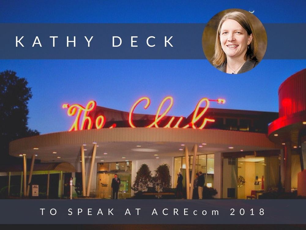 Kathy Deck to Speak at ACREcom 2018