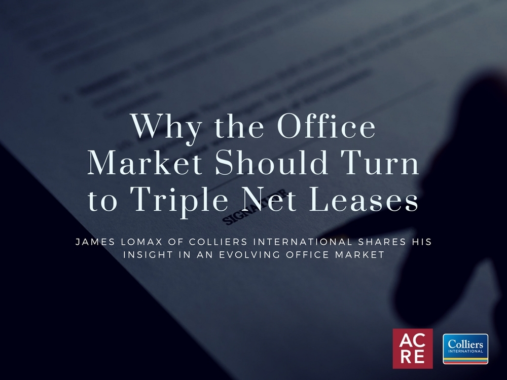 Why the Office Market Should Turn to Triple Net Leases