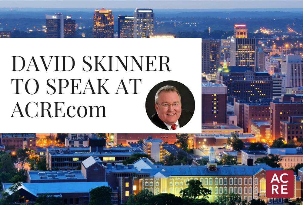 David Skinner to Speak at ACREcom