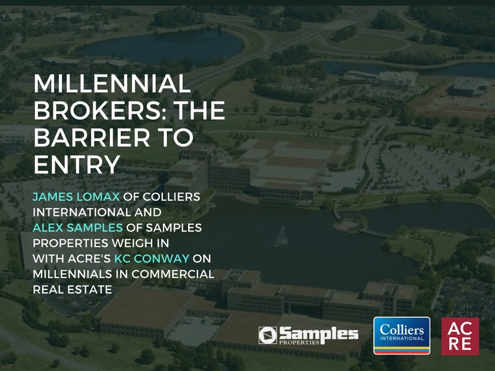 Millennial Brokers: The Barrier to Entry in CRE
