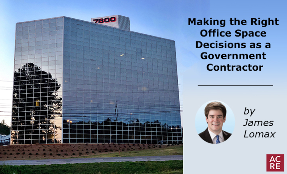 Making the Right Office Space Decisions as a Government Contractor