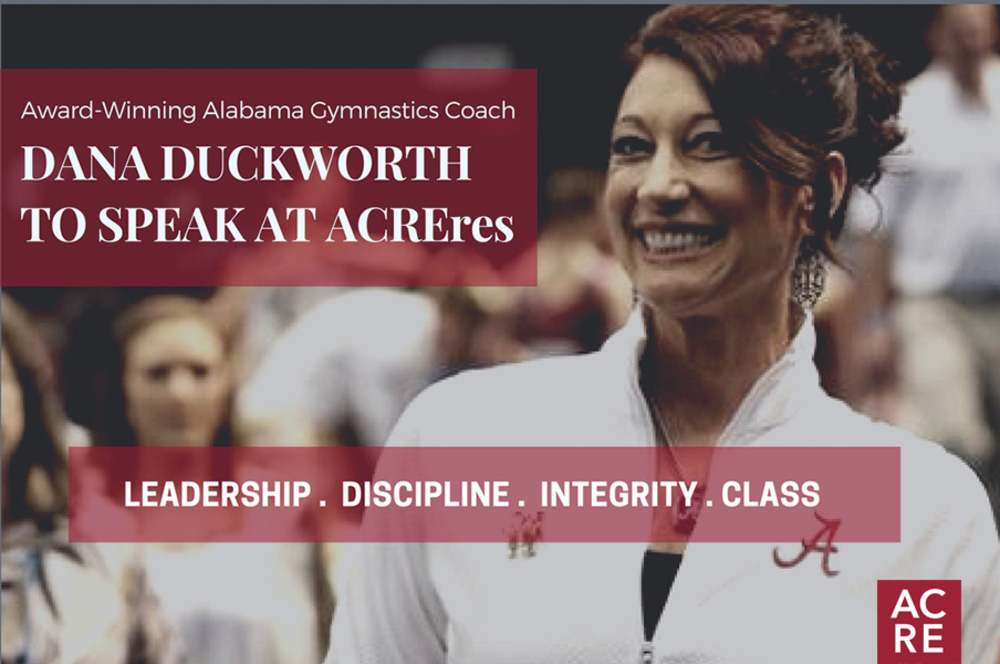 Dana Duckworth to Speak at ACREres