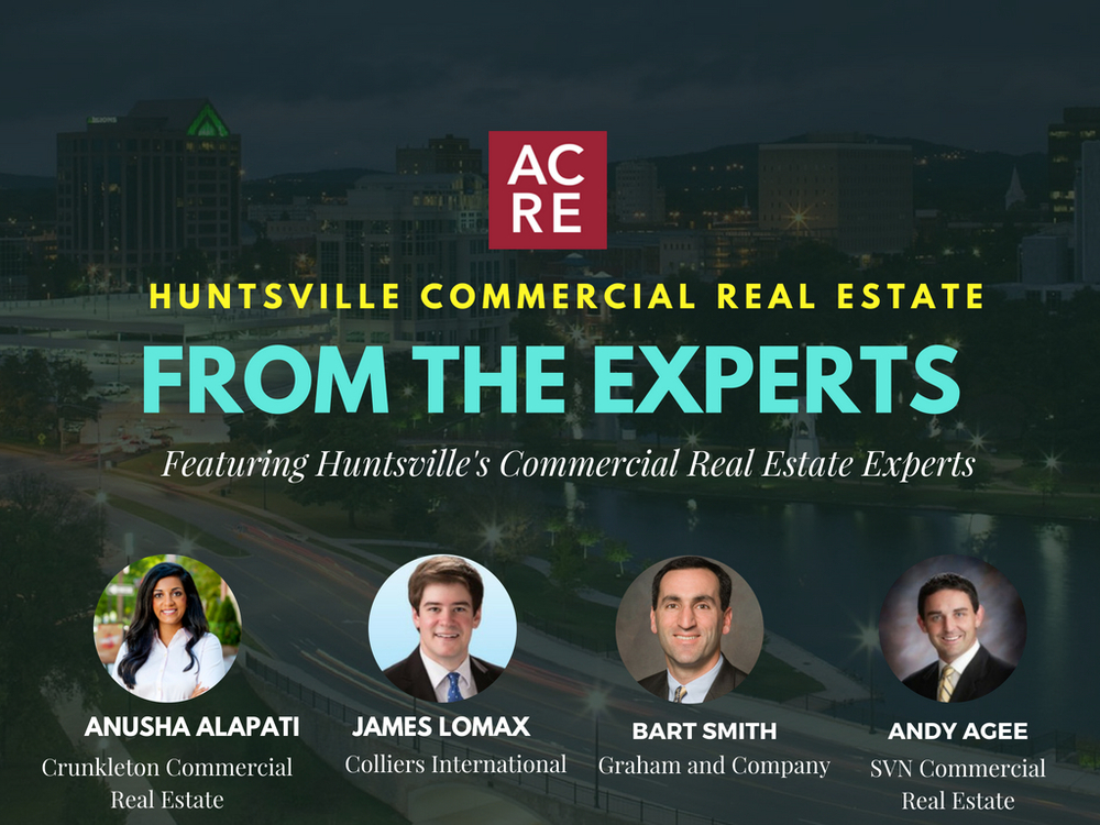 Huntsville Commercial Real Estate from the Experts Q1 2018