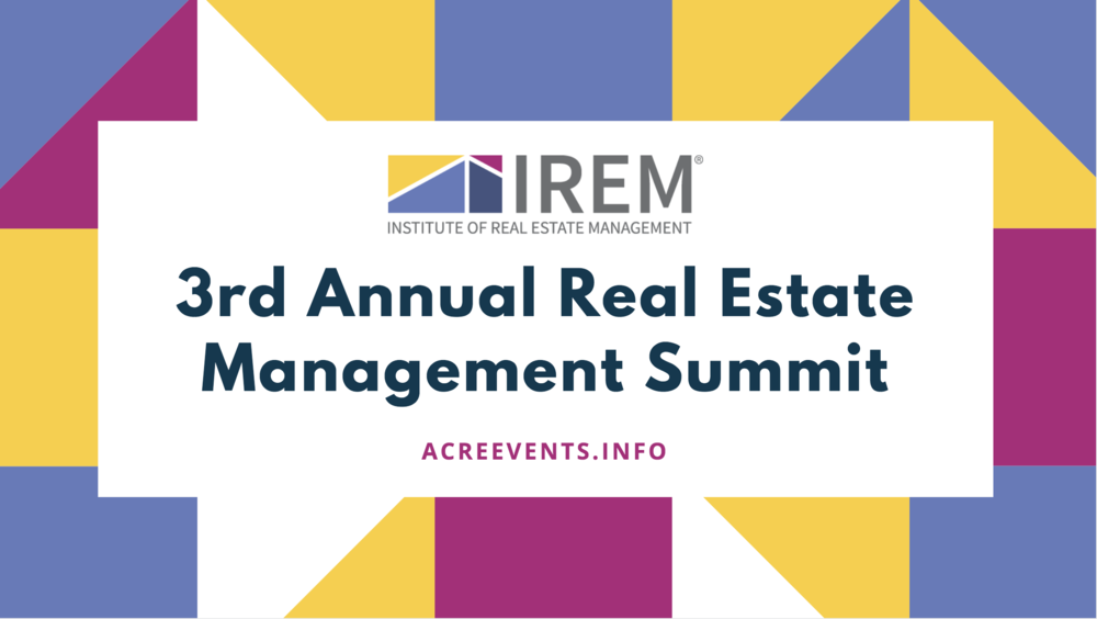 Announcing the 3rd Alabama Real Estate Management Summit