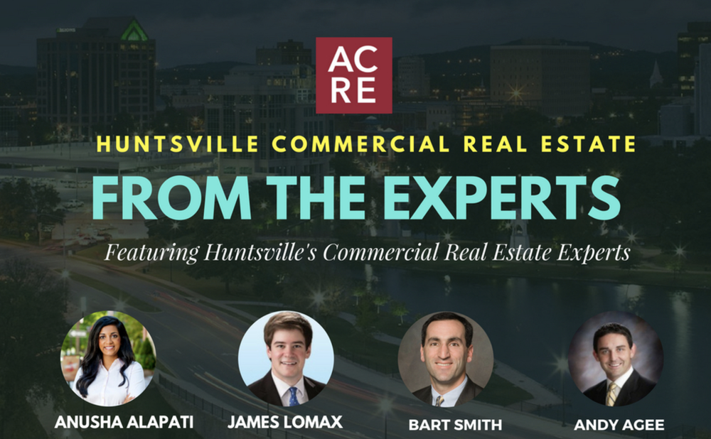 Huntsville Commercial Real Estate from the Experts Q2 2018