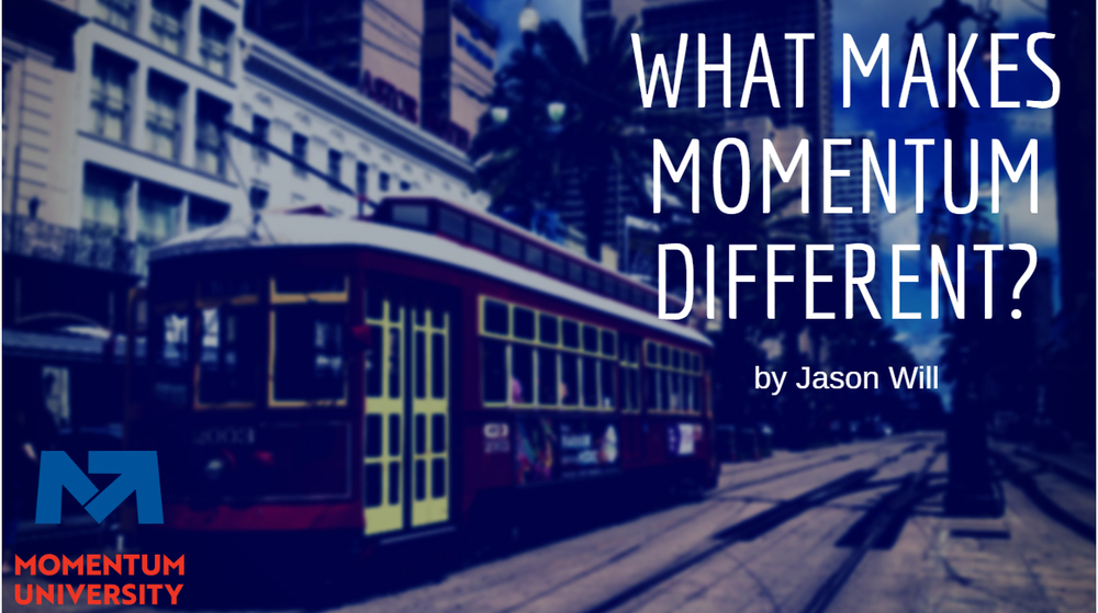 What Makes Momentum Different?