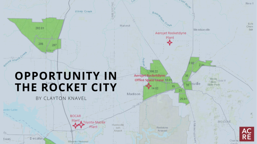 Opportunity in the Rocket City