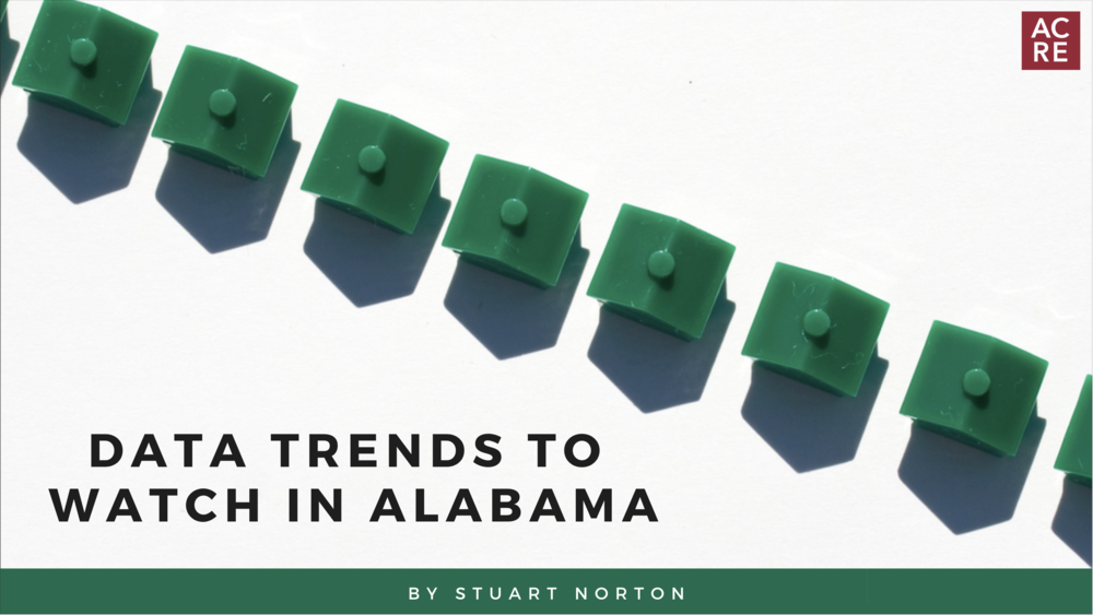 Data Trends to Watch in Alabama Real Estate