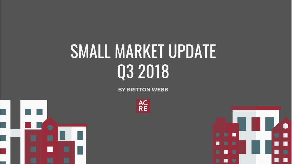 Small Market Update: Quarter 3