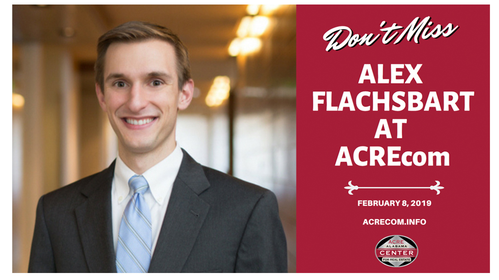 Opportunity Alabama Founder Alex Flachsbart to speak at ACREcom