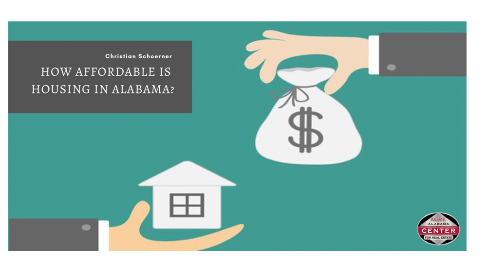 How Affordable is Housing in Alabama?