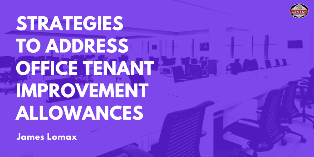 Strategies to Address Office Tenant Improvement Allowances