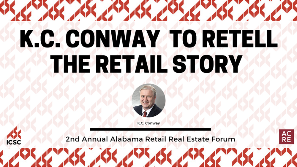 KC Conway to Retell the Retail Story at the 2nd Annual Alabama Retail Real Estate Forum