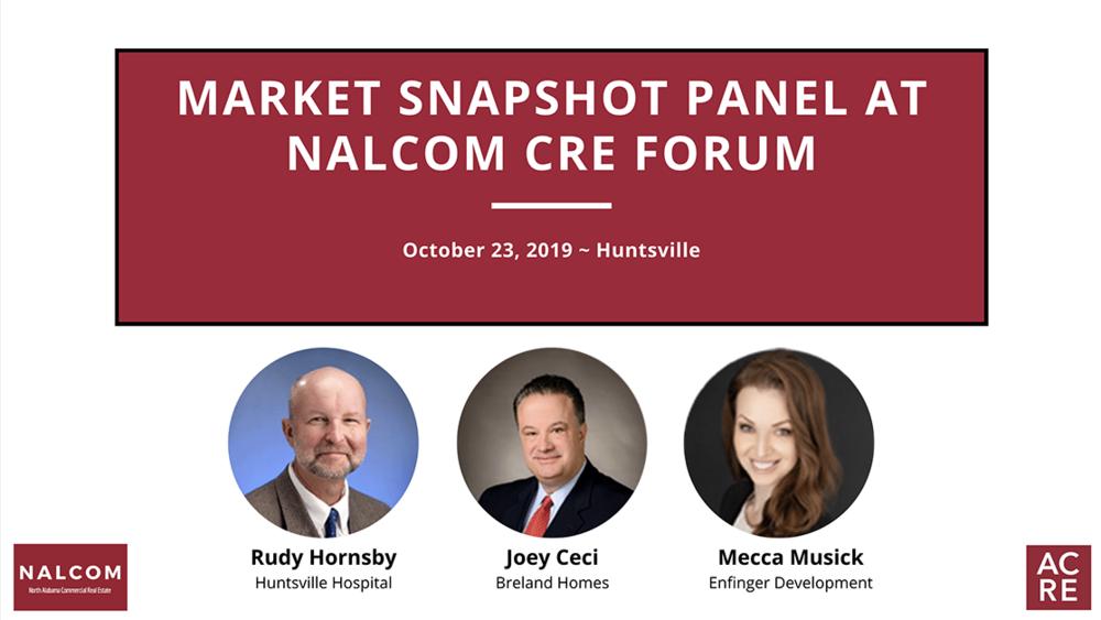Market Snapshot Panel at NALCOM CRE Forum