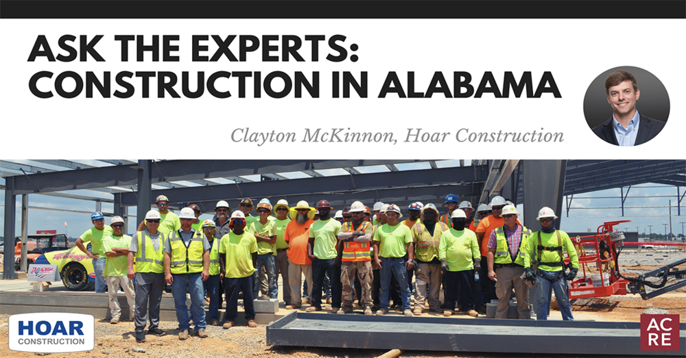 Ask the Experts: Construction in Alabama