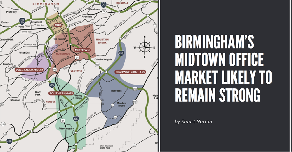 Birmingham's Midtown Office Market Likely to Remain Strong