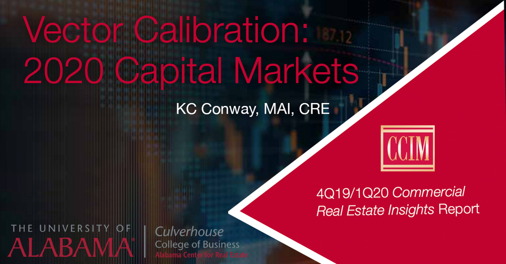Recalibration of Commercial Real Estate Investment Strategies  Needed in 2020
