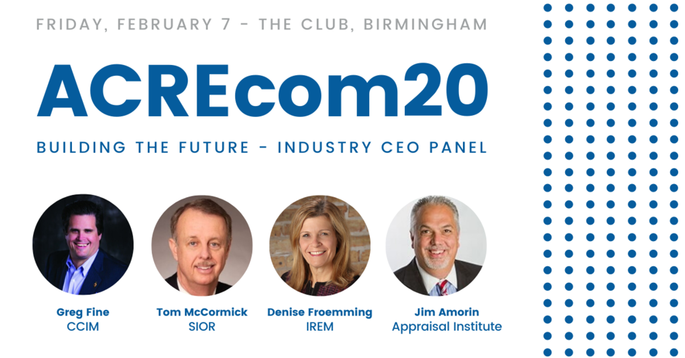 Distinguished Industry Leaders Attending ACREcom as Featured Speakers on the Industry CEO Panel