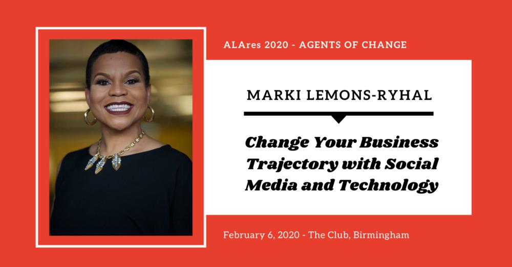 REBAC Hall of Fame Winner Marki Lemons-Ryhal to Speak at ALAres 2020