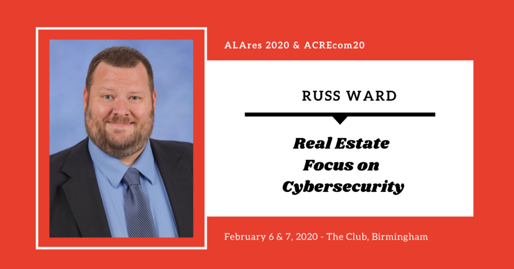 Prestigious Cybersecurity Professional to Speak at both ALAres and ACREcom 2020