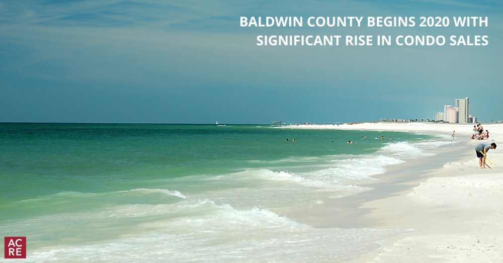 Baldwin County Begins 2020 with Significant Rise in Condo Sales