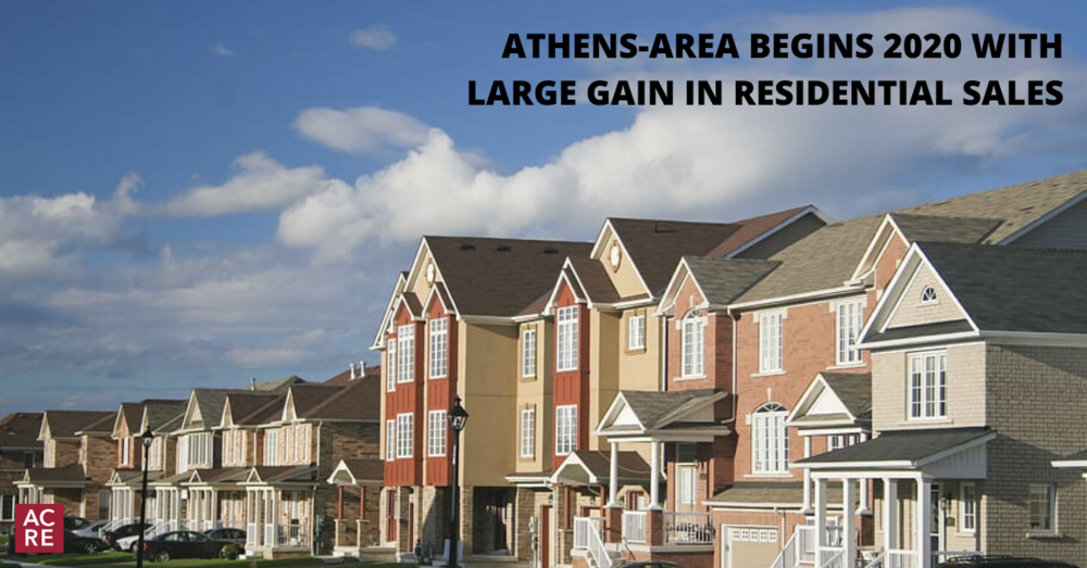 Athens Begins 2020 with Large Gain in Residential Sales