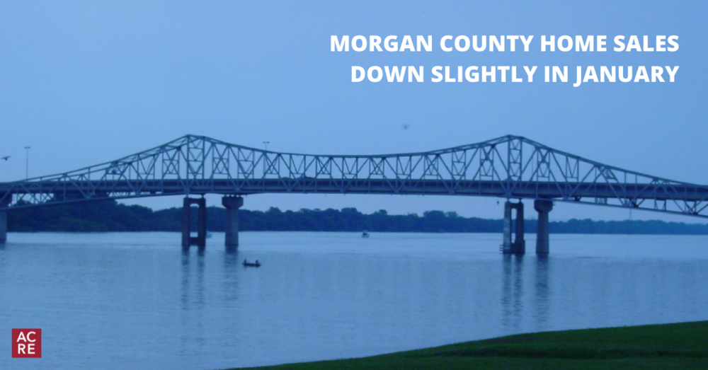 Morgan County Home Sales Down Slightly in January
