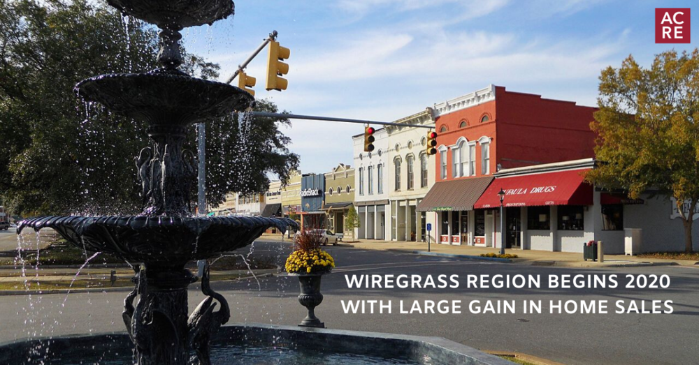 Wiregrass Region Begins 2020 with Large Gain in Home Sales