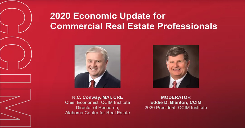 CCIM Institute's 2020 Economic Update for Commercial Real Estate Professionals