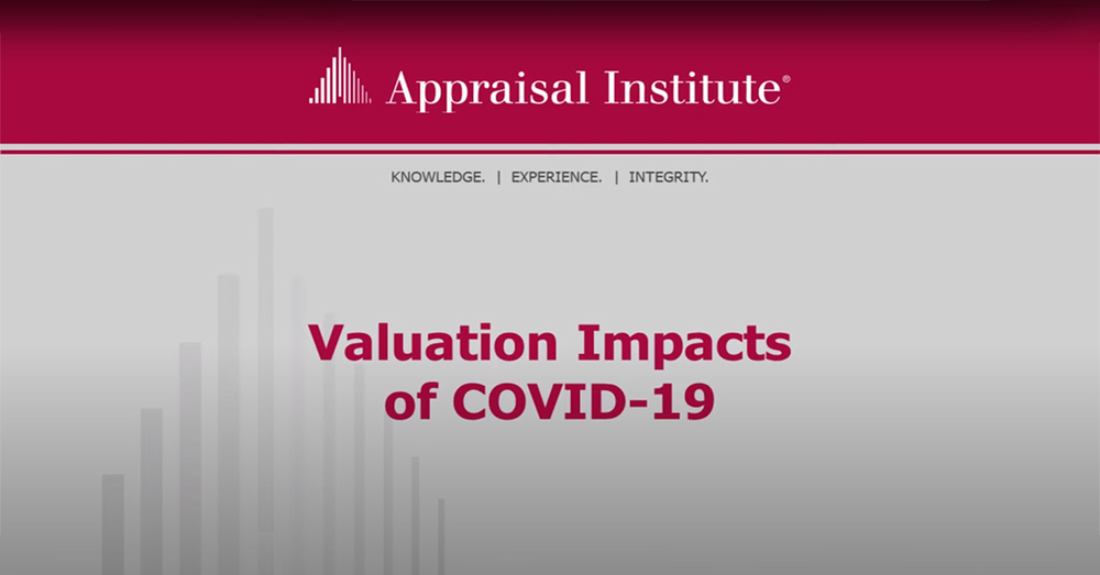 Valuation Impacts of COVID-19