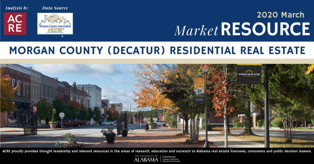 Decatur area home sales decline 3.3% in March 2020