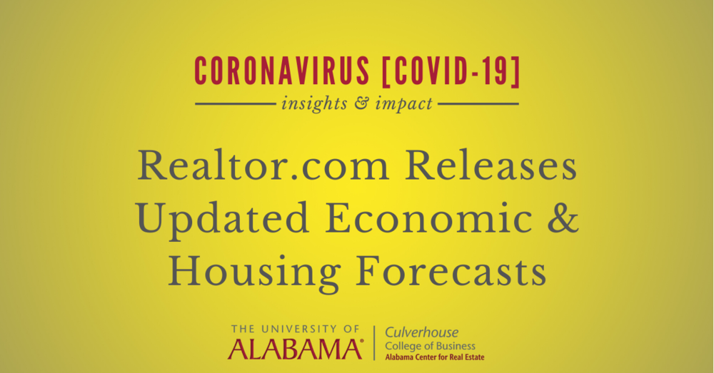 Realtor.com releases updated economic and housing forecast