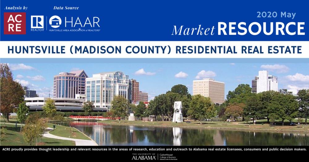 Huntsville area home sales decline 5.6% in May 2020