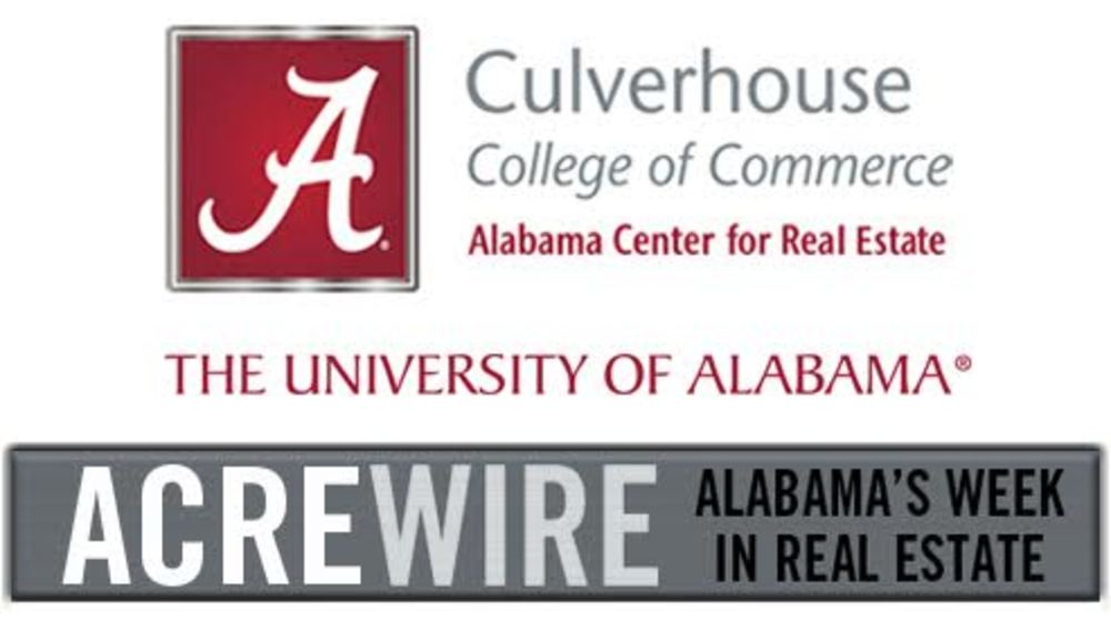 Alabama Week in Real Estate (WiRE) 5/13/17