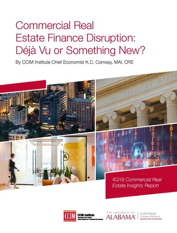 Commercial Real Estate Finance Disruption: Déjà Vu or Something New?