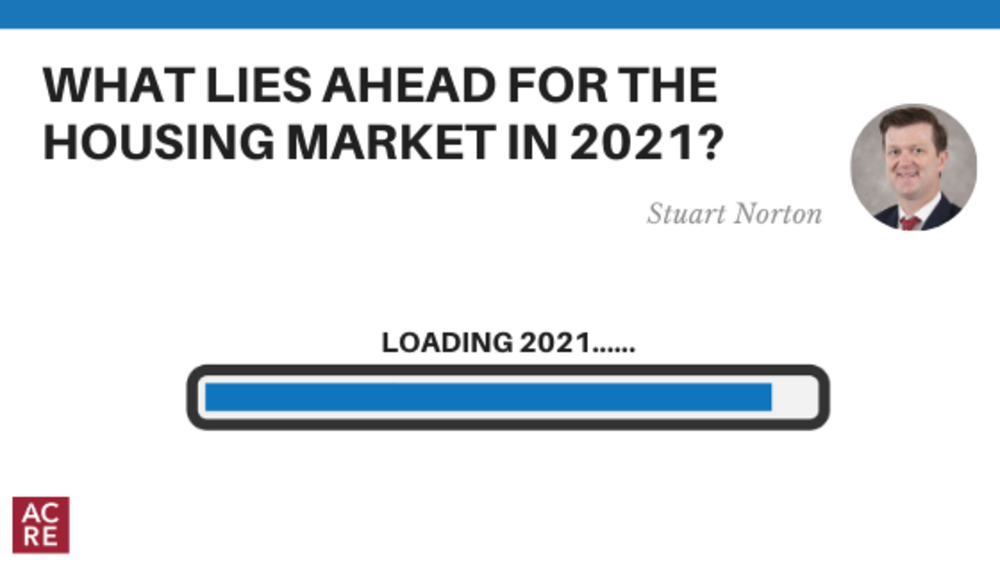 What lies ahead for the housing market in 2021?