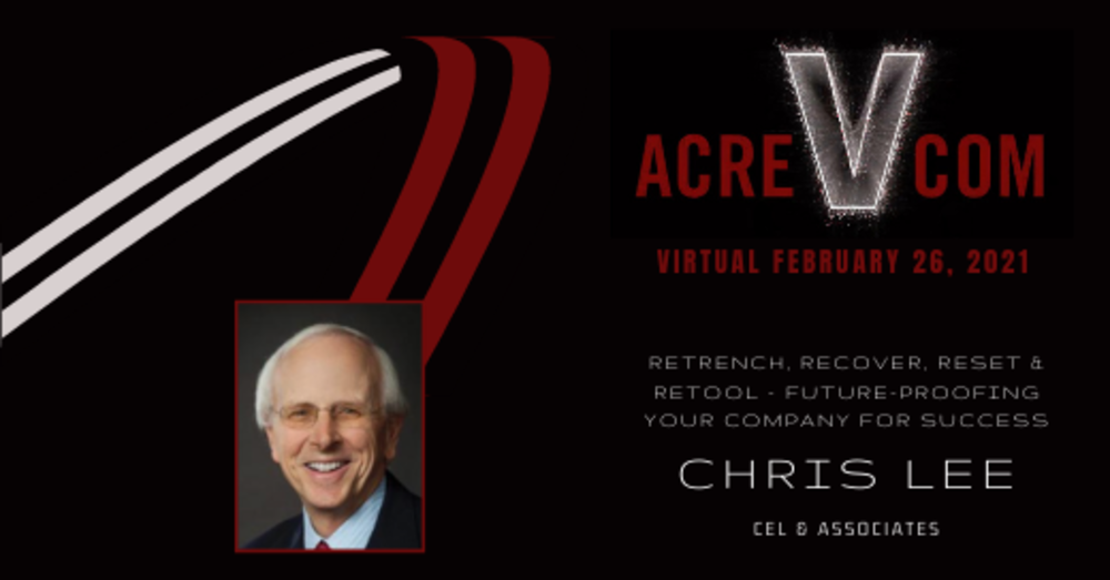 Christopher Lee Returns to ACREcom to Discuss Future-Proofing Your Company for  Success